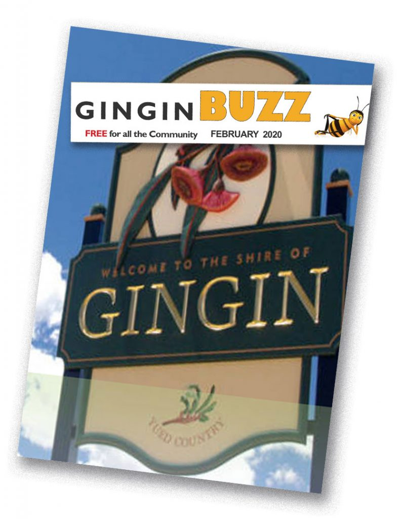 Gingin Buzz Newspaper